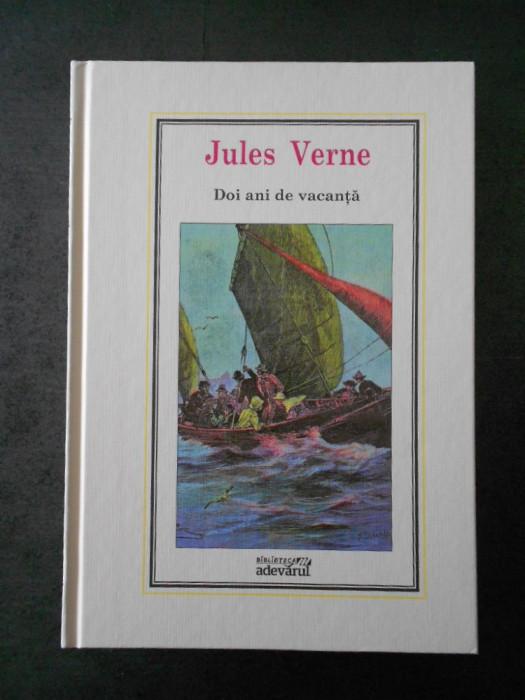 JULES VERNE - DOI ANI DE VACANTA (Adevarul, nr. 8)