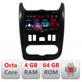 Navigatie dedicata Dacia Duster 2010-2012 E-099 Octa Core cu Android Radio Bluetooth Internet GPS WIFI DSP 4+64GB 4G CarStore Technology