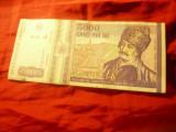 Bancnota 5000 lei 1993 cal. F.Buna
