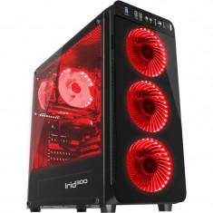 Carcasa Genesis Irid 300 Red