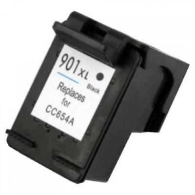Cartus HP 901XL BK CC654AE negru compatibil foto