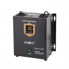 Cumpara ieftin UPS pentru centrale termice PRO KEMOT Sinus, 500 W, 12V