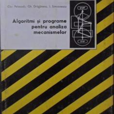 ALGORITMI SI PROGRAME PENTRU ANALIZA MECANISMELOR - CHR. PELECUDI, GH. DRAGANOIU