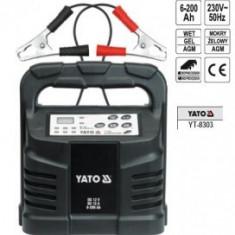 Redresor, 12V, 15A, 6-200Ah, YATO YT-8303