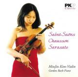 CD MinJin Kim – Saint-Saëns - Chausson - Sarasate , original, muzica clasica