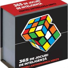 365 de jocuri de inteligență pentru antrenarea minții
