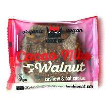 Prajiturica cu Nuci si Cacao Fara Gluten Bio 50gr Kookie Cat Cod: 3800232730488 foto