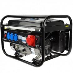 Generator de curent pe benzina TRIFAZIC/MONOFAZIC Geko Keltin K00256, 2500W, 230/400V, 6.5CP