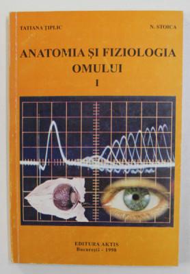 ANATOMIA SI FIZIOLOGIA OMULUI - SISTEMUL NERVOS SI ANALIZATORII - SINTEZE PENTRU EXAMENE DE ADMITERE , VOLUMUL I de TATIANA TIPLIC si N. STOICA , 1998 foto