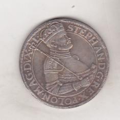bnk mnd Transilvania Thaler 1583 - REPLICA , alama argintata
