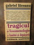 Tragicul: o fenomenologie a limitei și depășirii - Gabriel Liiceanu
