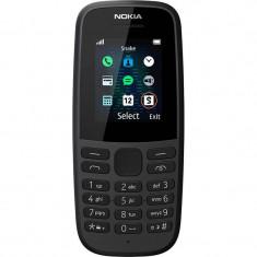 Telefon mobil Nokia N105 Dual Sim Black