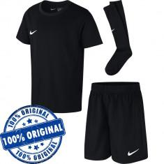 Echipament Nike Dry Park pentru copii - tricou original - pantaloni - jambiere