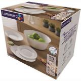 Serviciu de masa 19 piese Luminarc Cadix Handy KitchenServ