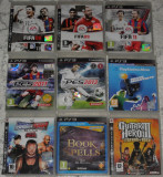 Joc PlayStation 3/PS3:fotbal FIFA 08,09,20011,PES 11,13,Smack Down,Gran Turismo