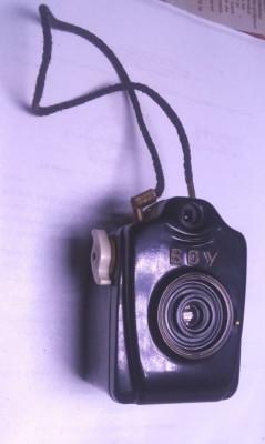 aparat foto german Bilora Boy vechi si rar de colectie anii 1949 bachelita foto