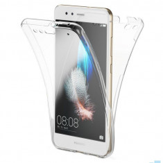 Husa Fata + Spate Transparent TPU Samsung Galaxy A40, SM A405