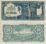 1942 , 10 dollars ( P-M7b ) - Malaya
