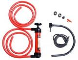 Pompa transfer lichide Automax si pompa aer , cu 2 furtunuri de 130 cm. si furtun cu cap umflat aer Kft Auto
