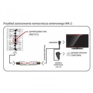 AMPLIFICATOR ANTENA DVB-T
