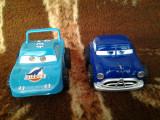 Disney Pixar Cars Dinoco + Hudson Hornet 10 cm jucarie copii