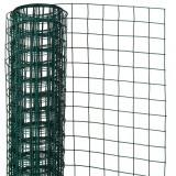 Cumpara ieftin Nature Plasă din sârmă, verde, 1 x 5 m, oțel cu plastic,13 mm, pătrat