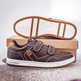 Pantofi casual barbati maro Dakaris
