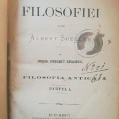 1869, Istoria filosofiei dupre Albert Suegler, 1 si 2, Ierod Genadiu Enaceanu