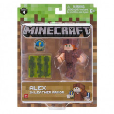 Figurina Minecraft Alex In Leather Armor