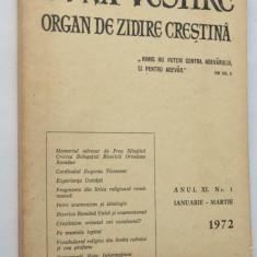 Buna vestire Organ de zidire crestina nr. 1 1972