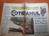 Cotidianul 9 mai 1995-art anghel iordanescu,tunelul secret de sub raul dambovita