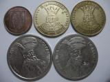 Romania (77) - 1 Leu 1993, 20 Lei 1992, 1993, 100 Lei 1992, 1994