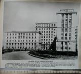 Fotografie Spitalul de la Fundeni, București, Alb-Negru, Cladiri, Romania de la 1950