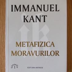 METAFIZA MORAVURILOR- IMMANUEL KANT