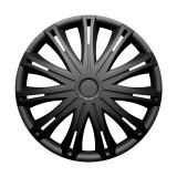 "Set Capace Roti VERSACO SPARK BLACK 15"" V0320"