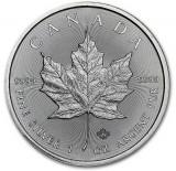 CANADA  5 DOLLARS -MAPLE LEAF- 2016 1 oz. / 31,103 gr. / Ag. 0999 / 38mm, America de Nord