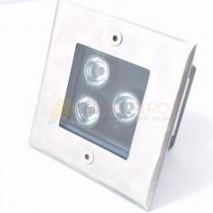 SPOT LED 3W PAVAJE PATRAT NATURAL