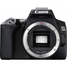 Aparat foto DSLR Canon EOS 250D, 24.1 MP, Wi-Fi, Negru + Obiectiv EF-S 18-55mm, f/3.5-5.6 III