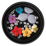 Cumpara ieftin Flori Uscate Unghii LUXORISE cu cristale - Floral Fairytale #07