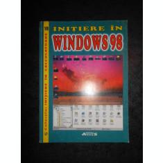 GABRIELA PANAIT - INITIERE IN WINDOWS 98