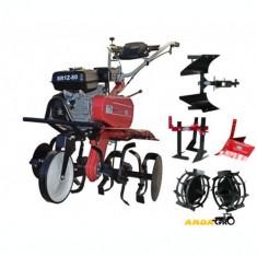 Motocultor SR1Z-80 -Roti Metalice, Rarita Reglabila, Plug Reversibil, Prasitoare