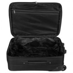 Troler de voiaj, 65.5x42x25 cm , negru, 54 litri