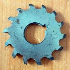 FREZA DISC unghiular simetrica in V - D.ext 48 x 4 mm (d.int 22 mm)