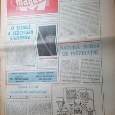 Ziarul magazin 12 aprilie 1980-art. adrian paunescu -pentru arta in fotbal