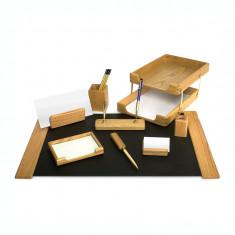 Set birou lux Forpus 470002 lemn