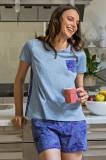 Pijama damă Flora, COTONELLA