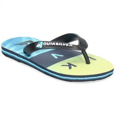 Slapi Copii Quiksilver Molokai Wordblock Volley AQBL100380XKSB