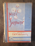 MICI SATISFACTII -AL. O . TEODOREANU , cu un portret inedit  STEFAN DIMITRESCU