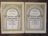 Cronicari și istorici români din Transilvania - îngrijită N. Cartojan (2 vol.)