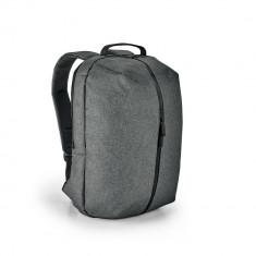 Rucsac Laptop 15.6 inch, Everestus, NB, 600D densitate mare, gri inchis, saculet de calatorie si eticheta bagaj incluse